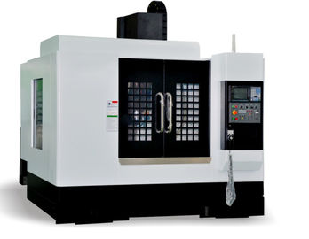 China Small Cnc Machining Center / 3 Axis Vmc Machine 24T Tool Storage Capacity factory